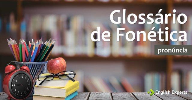 Glossário de Fonética