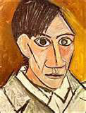 Self portrait - Picasso
