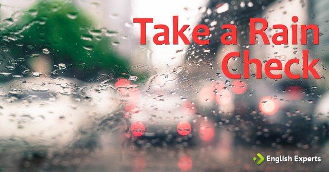 Take a rain check: Inglês em filmes