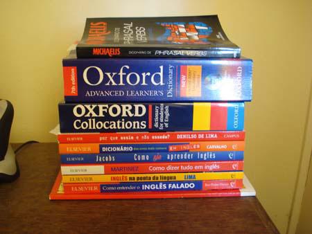 Indicação de livros e dicionários para turbinar o seu Inglês