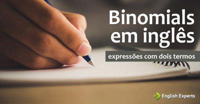 Binomials em inglês: Expressões com Dois Termos
