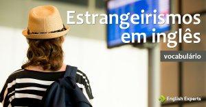Estrangeirismos em inglês