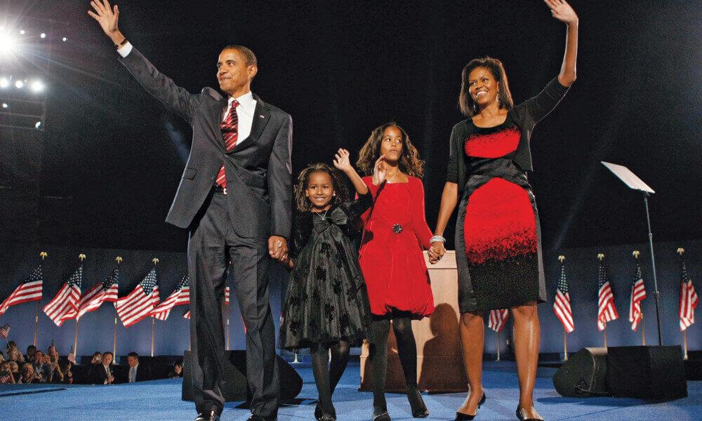 Discurso de Vitória Obama em 2008