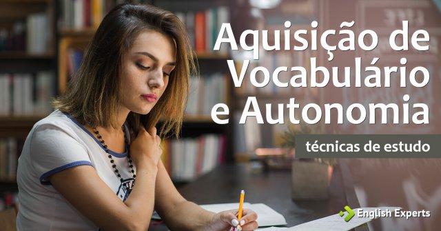 Aquisição de Vocabulário e Autonomia
