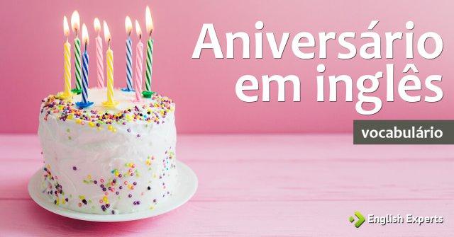 Aniversário em inglês