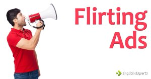 Flirting ads