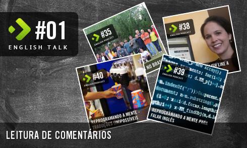English Talk 01: Leitura de Comentários