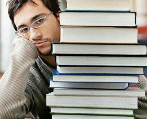 cansado com os livros