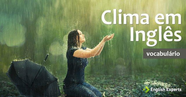 Clima em Inglês