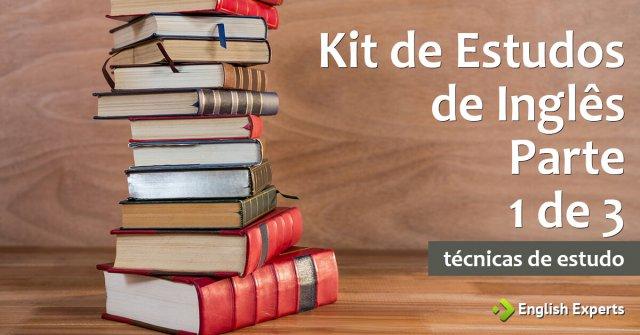 Kit de Estudos de Inglês - Parte 1 de 3