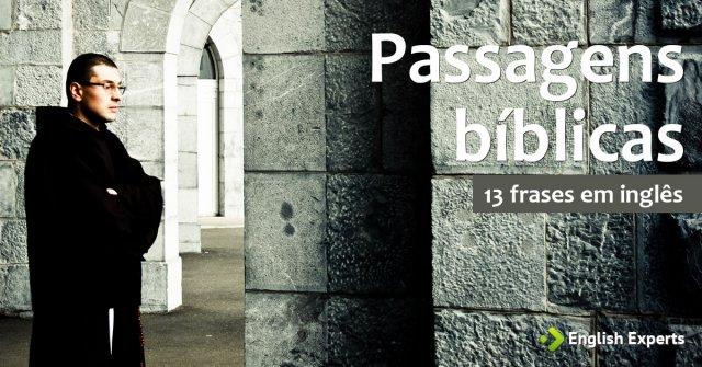 13 Frases Com Passagens Bíblicas Em Inglês English Experts