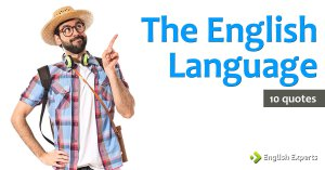 10 quotes about the (English) language