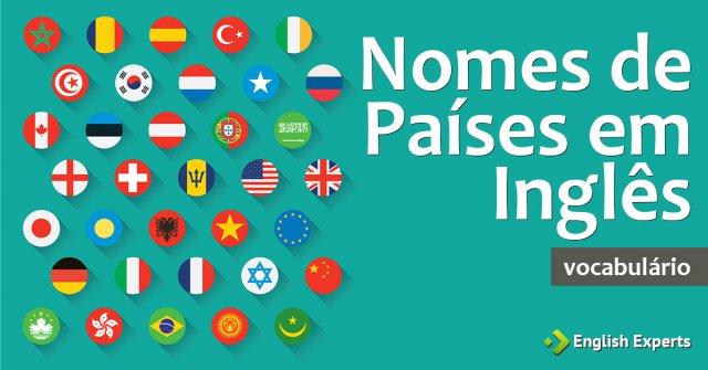 Nomes de Países em Inglês