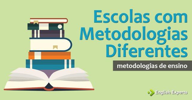 Dar aula em duas Escolas com Metodologias Diferentes