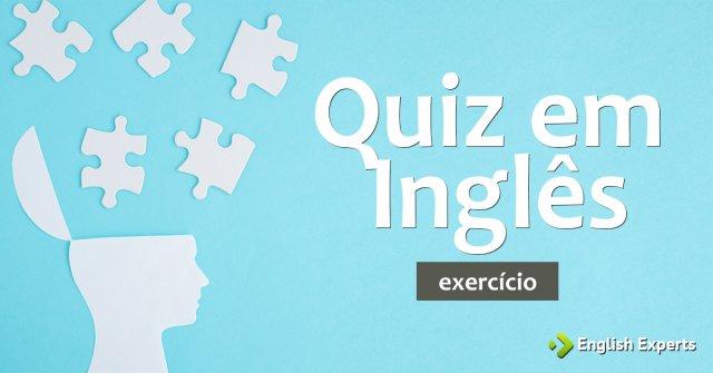 Exercício: Quiz em Inglês