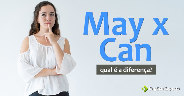 May x Can: Qual é a diferença?